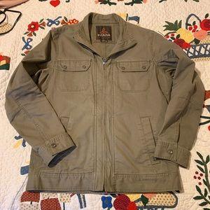 Prana khaki jacket